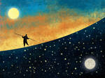 The Tightrope Walker by roweig