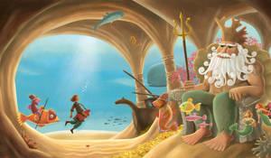 Sadko - Sea King by roweig