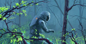 astronaut 3 by RomanRazgriz
