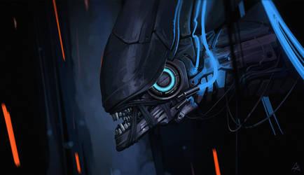 robo Alien 6 by RomanRazgriz