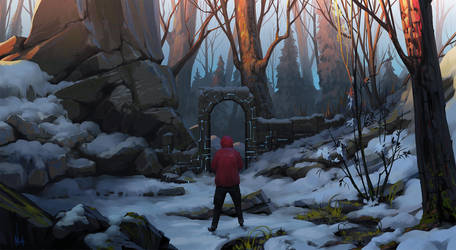 winter by RomanRazgriz