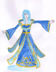 Sona cosplay plan by LadyMalande