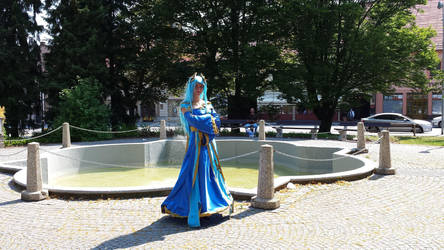 Sona cosplay by LadyMalande