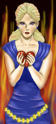 Dany and Heart by LadyMalande