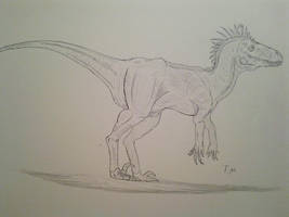 Trade: Lizard-Raptor for The-DreamGuardian by Trendorman