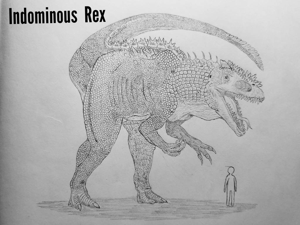 Monster Island Expanded: Indominus Rex by Trendorman