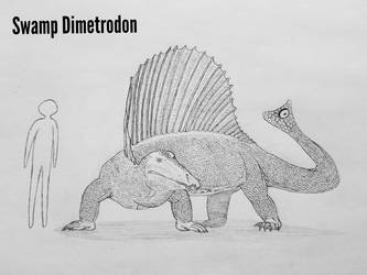 Monster Island Expanded: Swamp Dimetrodon by Trendorman
