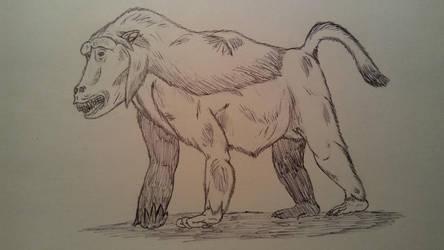 COW#119: Devil Monkey by Trendorman