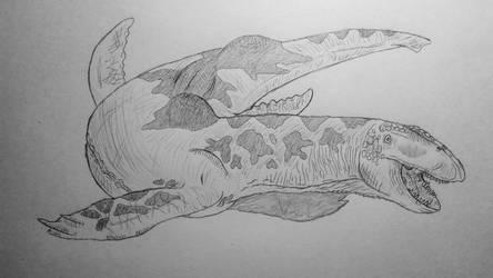COTW#137: Wallowa Lake Monster by Trendorman