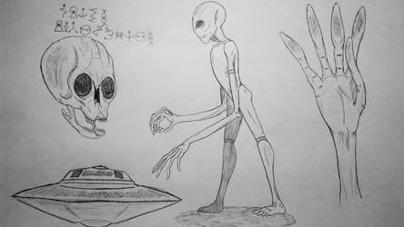 COTW#140: Gray Aliens by Trendorman