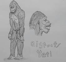 COTW#169: Bigfoot AKA Yeti/Sasquatch/Yowie/Yeren by Trendorman