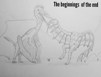 Cryptids/myths/monster after man: The Beginning by Trendorman