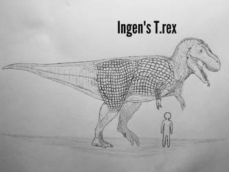 MonsterIslandExpanded: Tyrannosaurus rex ingens by Trendorman