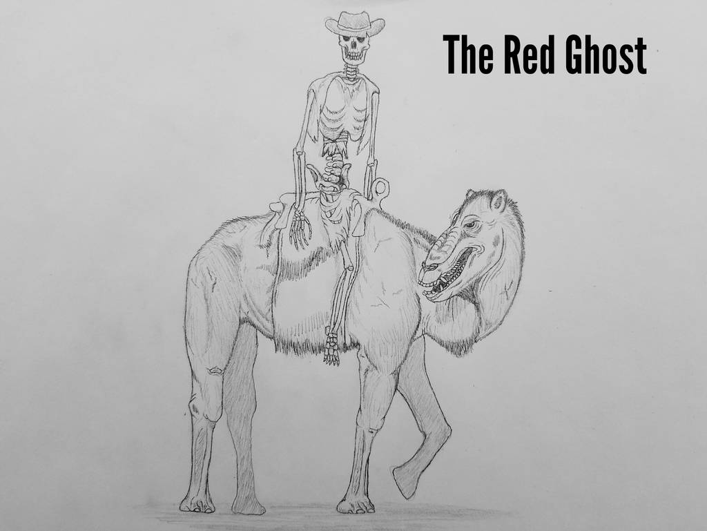 COTW#220: The Red Ghost by Trendorman