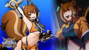 Blazblue Cross Tag Battle Makoto by farizf