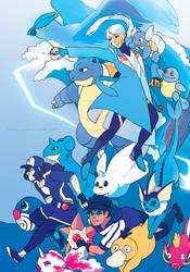 Team Mystic by Kirokokori