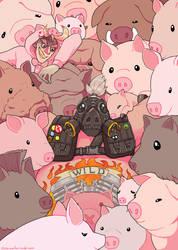 Roadhog and Friends by Kirokokori