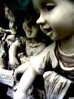 cemetery children by CiRcUsSpiDeR