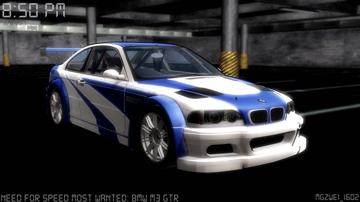 Mmd Need For Speed W I P Bmw M3 Gtr By Mgzweiis On Deviantart