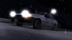[MMD] Toyota Sprinter Trueno/AE86(W.I.P) by MGZweiis