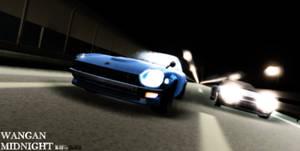 [MMD/WANGAN MIDNIGHT] Devil Z vs R-32 GTR by MGZweiis