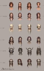 Silvernai: Haircut concept by telthona