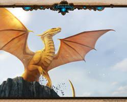 Racial Wars: Dragon Pentagrus by telthona