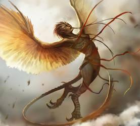 Harpy by telthona