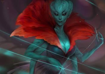 Alien Fantasy by telthona