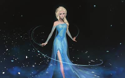 Elsa by telthona