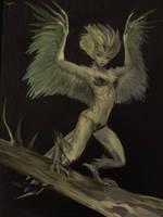 Little Harpy by telthona
