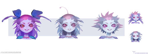 Little Fairy Design Exploration by telthona