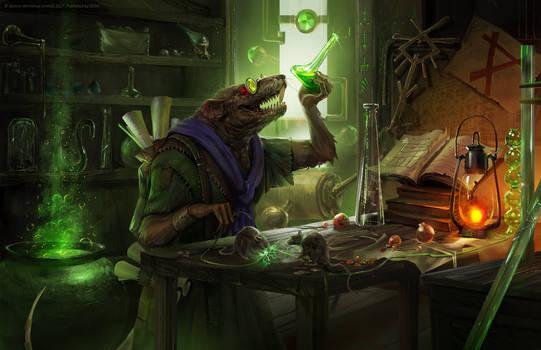 Total War: Warhammer 2 - Lab Rat by telthona