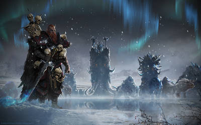Total War: Warhammer - Norsca by telthona