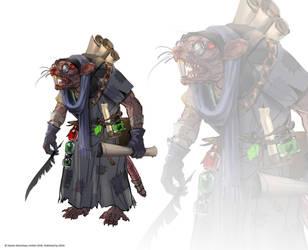 Total War: Warhammer 2 - Sneek Scratchett by telthona