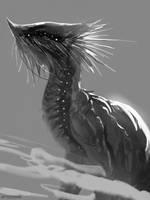 Dragon Sketch 3 by telthona