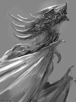Dragon Sketch 1 by telthona