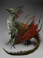 Swamp Dragon by telthona