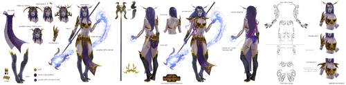 Total War Warhammer 2 - Supreme Sorceress by telthona