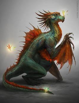 Fairy Draco by telthona