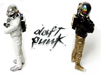 Daft Punk mobile wallpaper 5 by niteshift