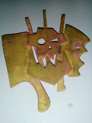Warhammer: emblem ork by tortalmortal