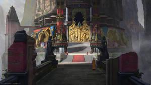 Hathi Temple 05: Temple Doors by JaikArt