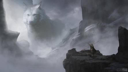 The Wolf by JaikArt