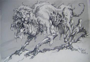 WEIRDWOLF in Sheeps Clothing by TheGurch