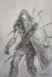 ROMAN walking dead by TheGurch