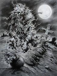 Graveyard - Ghoul - Ghost by TheGurch