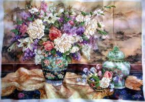 Floral Embroidery by pinkythepink