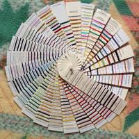 Kreinik Color Wheel by pinkythepink