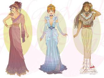 WIP3-Nouveau Princess Patterns (Hannah-Alexander)6 by pinkythepink
